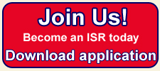 Button: Join Us! Become an ISR today Download application
