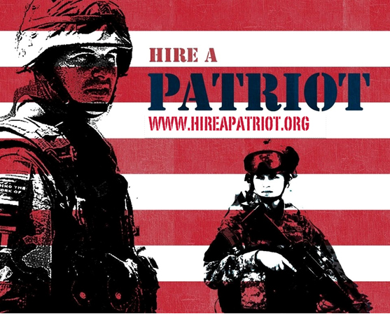 go to www.hireapatriot.com